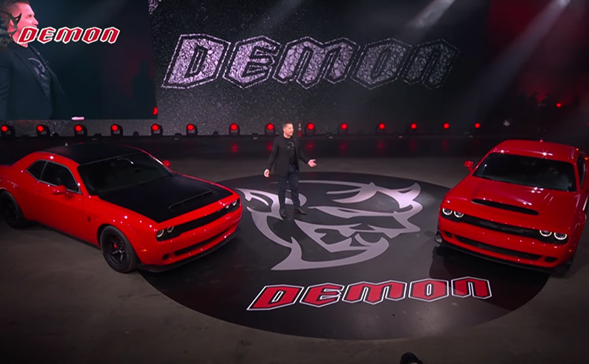 The JRT agency® and CG Detroit® help launch the 2018 Dodge Challenger SRT® Demon