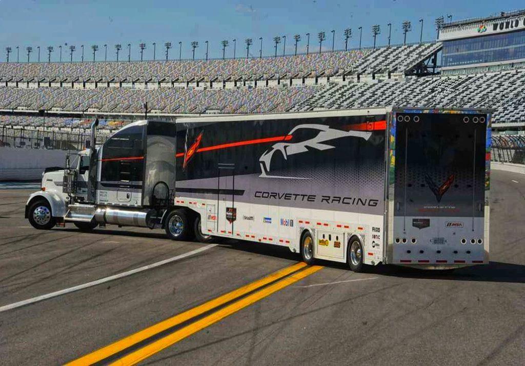 corvette vehicle transporter