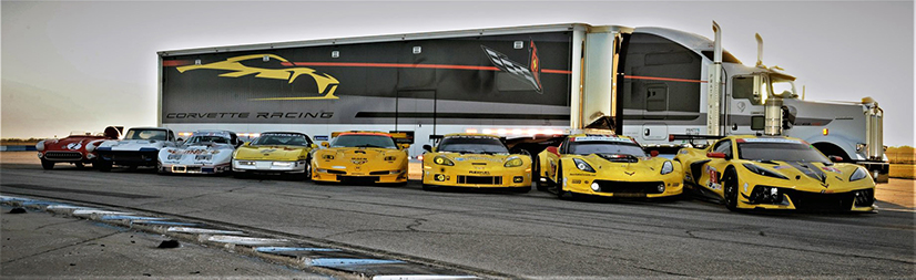 CG Detroit® Sends Team Corvette Out with Flying Colors for 2020