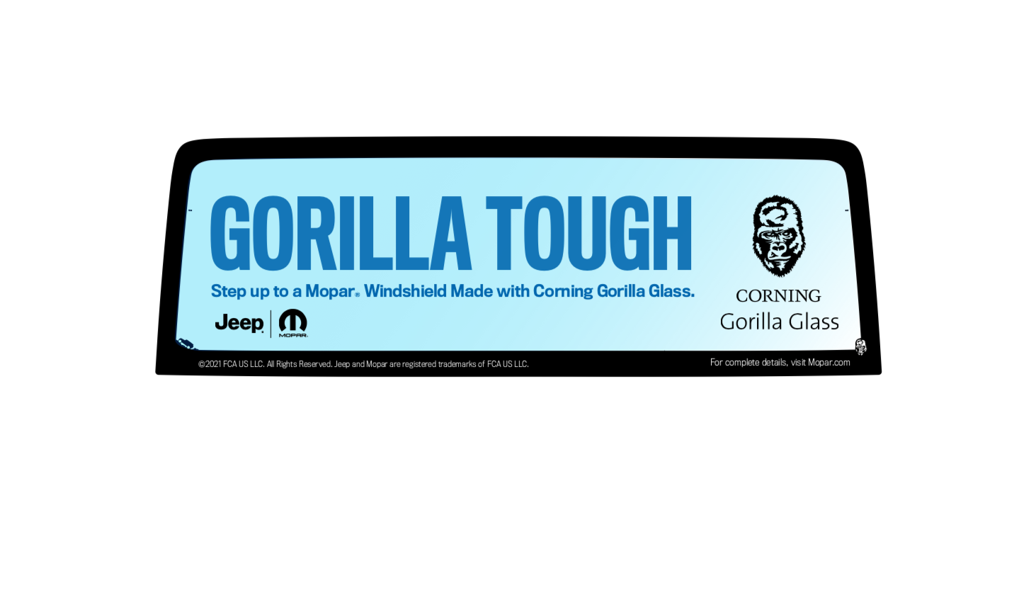 JRT and Mopar® Re-Launch Gorilla Glass